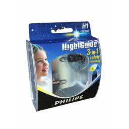 LÁMPARA H1 PHILIPS NIGHT GUIDE 12V/55W 2 UNIDADES